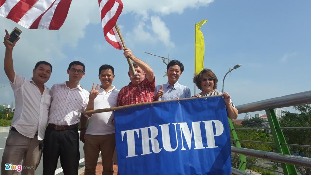 Air Force One dua Tong thong Trump den Da Nang hinh anh 28