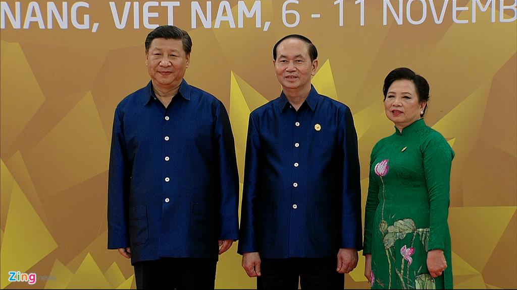 Chu tich nuoc Tran Dai Quang chu tri tiec chieu dai lanh dao APEC hinh anh 7