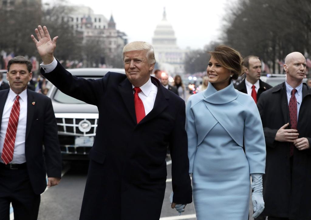 trang phuc cua Melania Trump anh 1