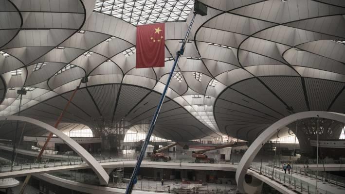 Cận cảnh sân bay trị giá 12 tỷ USD sắp mở cửa ở Trung Quốc - Ảnh 3