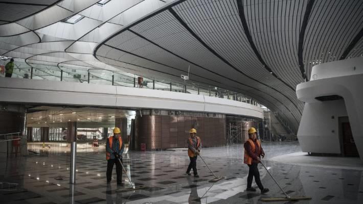 Cận cảnh sân bay trị giá 12 tỷ USD sắp mở cửa ở Trung Quốc - Ảnh 6