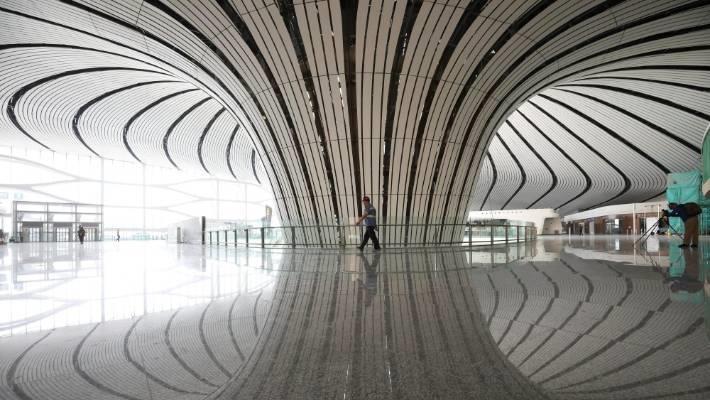 Cận cảnh sân bay trị giá 12 tỷ USD sắp mở cửa ở Trung Quốc - Ảnh 4