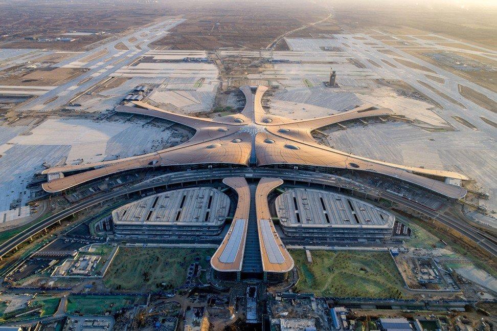 Cận cảnh sân bay trị giá 12 tỷ USD sắp mở cửa ở Trung Quốc - Ảnh 1