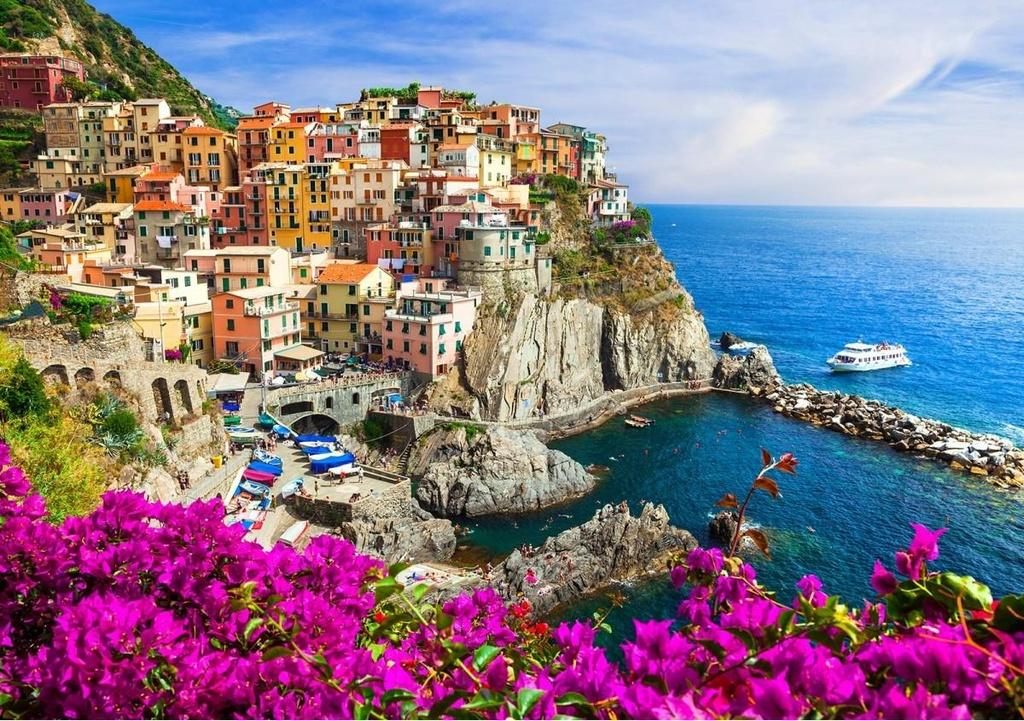 Lac buoc giua ngoi nha cau vong dep nhu co tich o Italy hinh anh 15