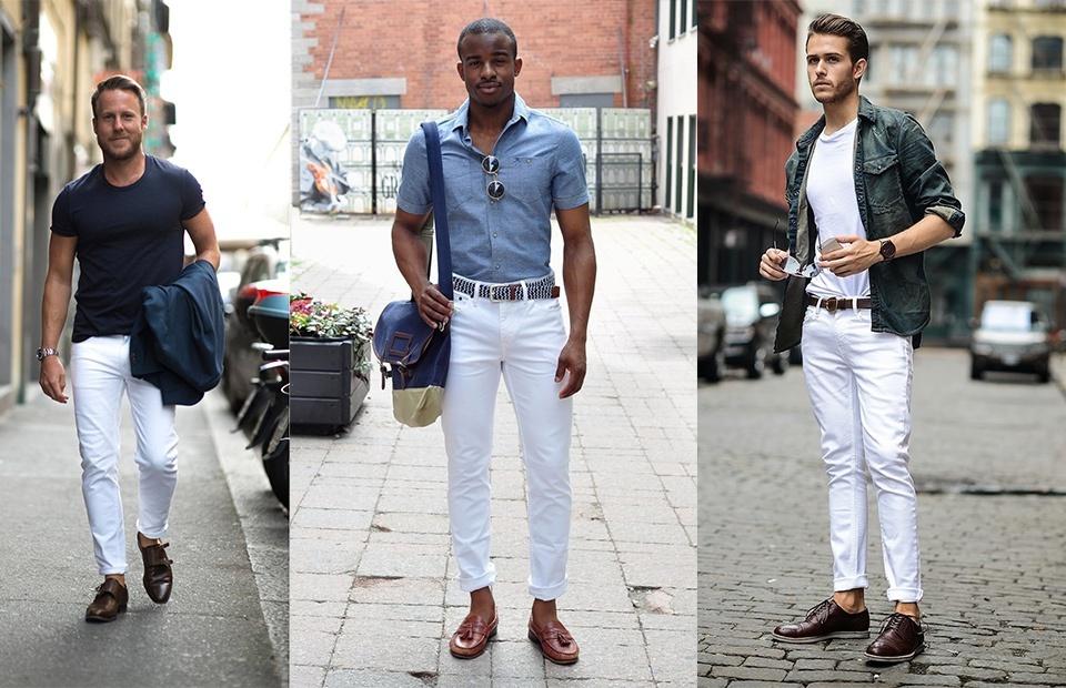 Pha giai noi lo nu tinh cho cac chang trai khi mac quan trang hinh anh 1 whitejeans_shirt.jpg