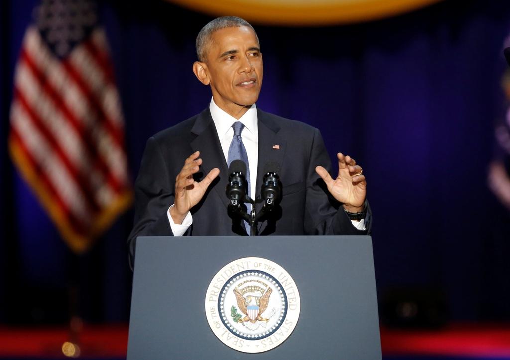 tong thong Obama phat bieu chia tay anh 1