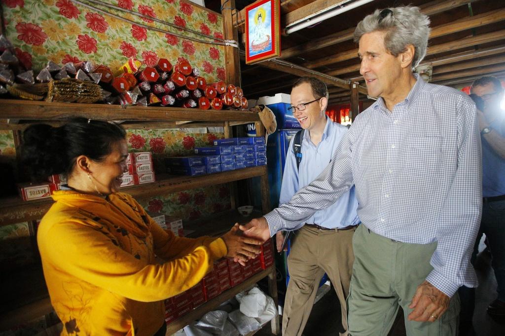 John Kerry phan doi chien tranh Viet Nam anh 1