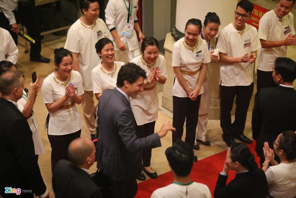 Thu tuong Trudeau thu hut su chu y tai cuoc hop APEC - ASEAN hinh anh 1
