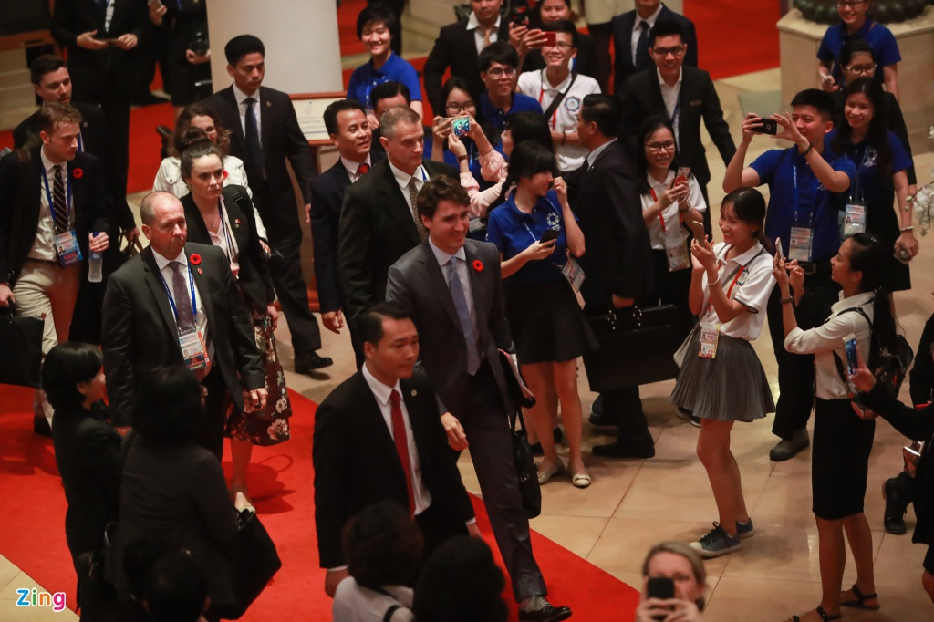Thu tuong Trudeau thu hut su chu y tai cuoc hop APEC - ASEAN hinh anh 6