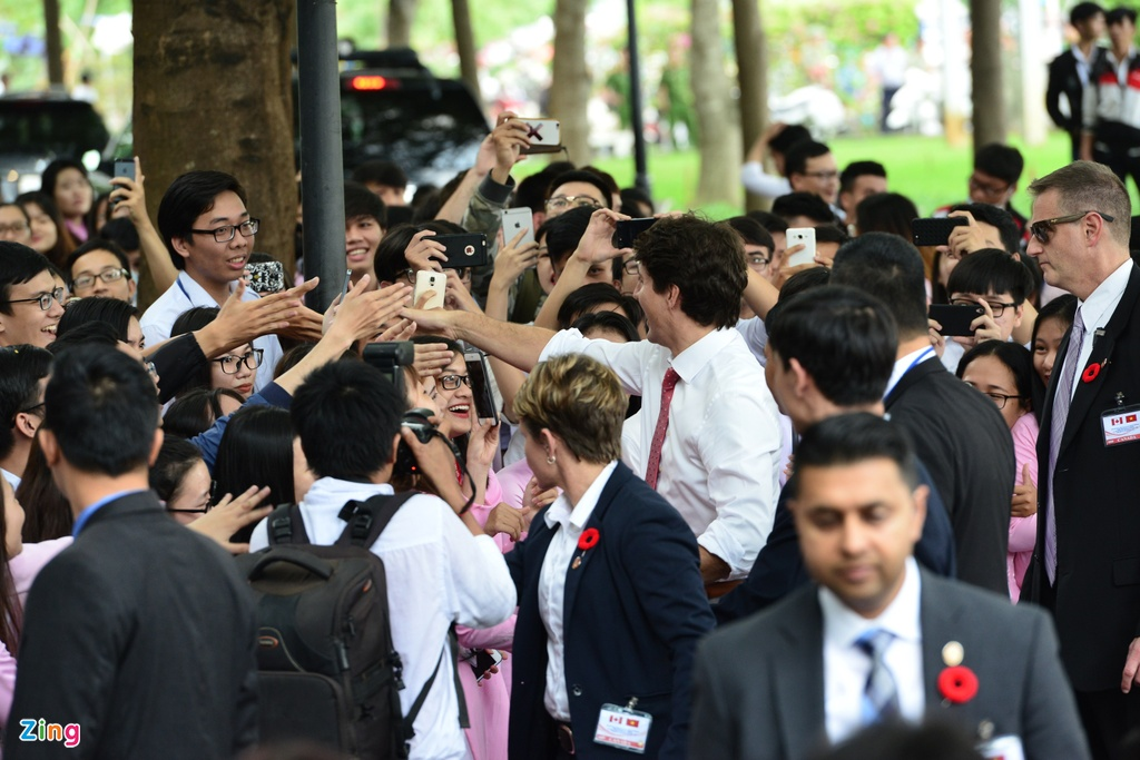 thu tuong Canada Justin Trudeau anh 7