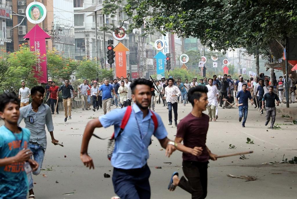 Bieu tinh Bangladesh - vu tai nan lam te liet thanh pho 18 trieu dan hinh anh 2