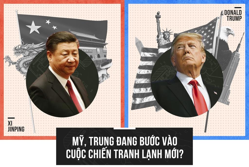 Kết quả hình ảnh cho Đối đầu giữa Hoa Kỳ và Trung Quốc: Một loại chiến tranh lạnh mới