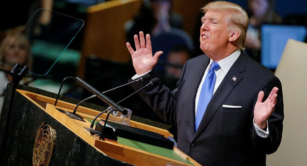 Mot nam sau chi trich, Trump se ca ngoi quan he voi Trieu Tien o LHQ hinh anh 1