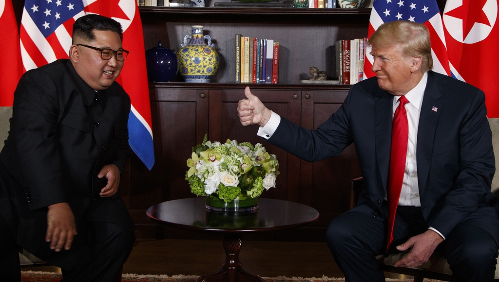 Mot nam sau chi trich, Trump se ca ngoi quan he voi Trieu Tien o LHQ hinh anh 2