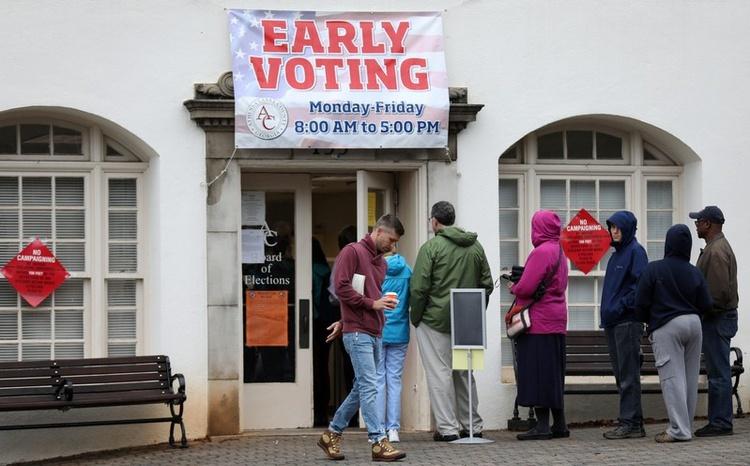 Bầu cử giữa kì nước Mỹ : Thù hận, hy vọng và lịch sử phơi bày  - ảnh 4