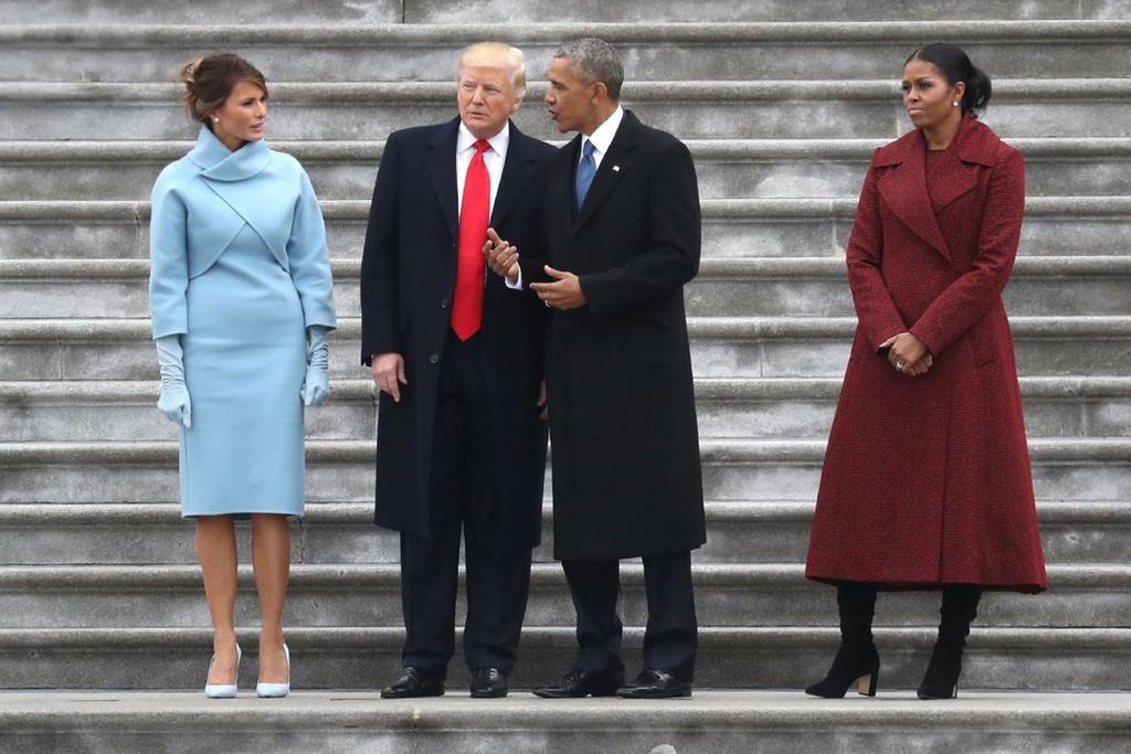 Michelle Obama - Donald Trump: Su doi lap dien hinh cua nuoc My? hinh anh 2