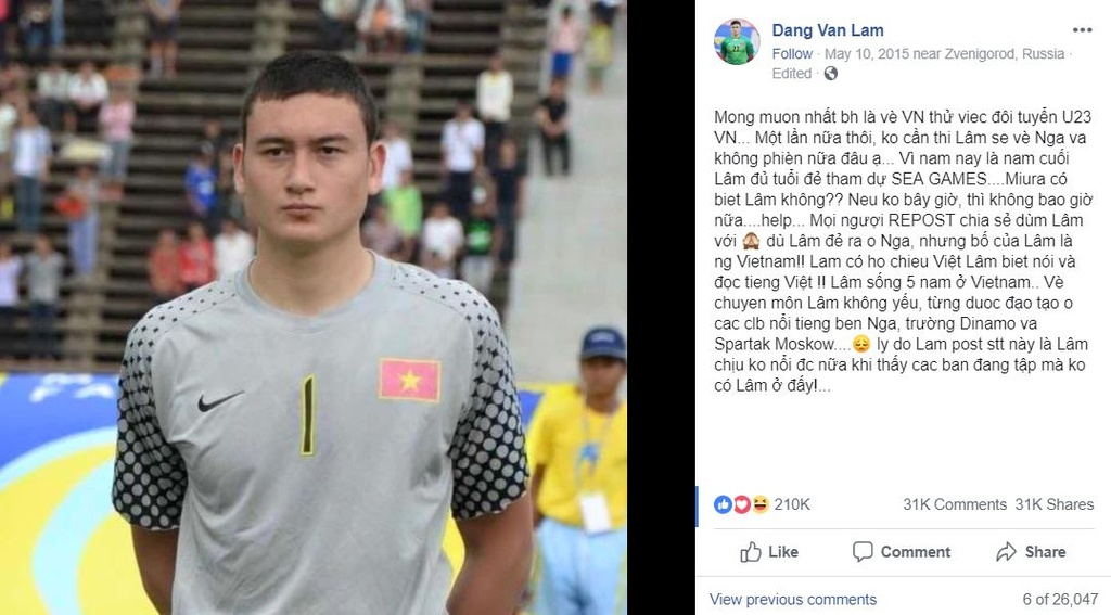 Cha thu mon Van Lam: 'Chau da danh doi 8 nam de co 90 phut chung ket' hinh anh 7