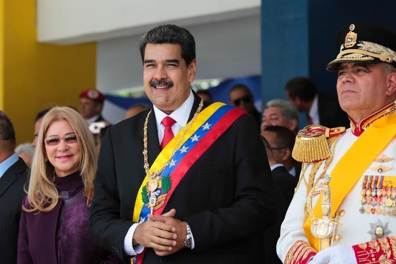 TT Maduro pho truong suc manh quan su trong le mung quoc khanh hinh anh 2