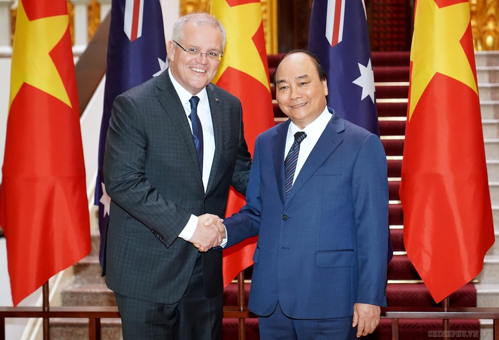 Thu tuong VN, Australia quan ngai hoat dong 'quan su hoa' Bien Dong hinh anh 1