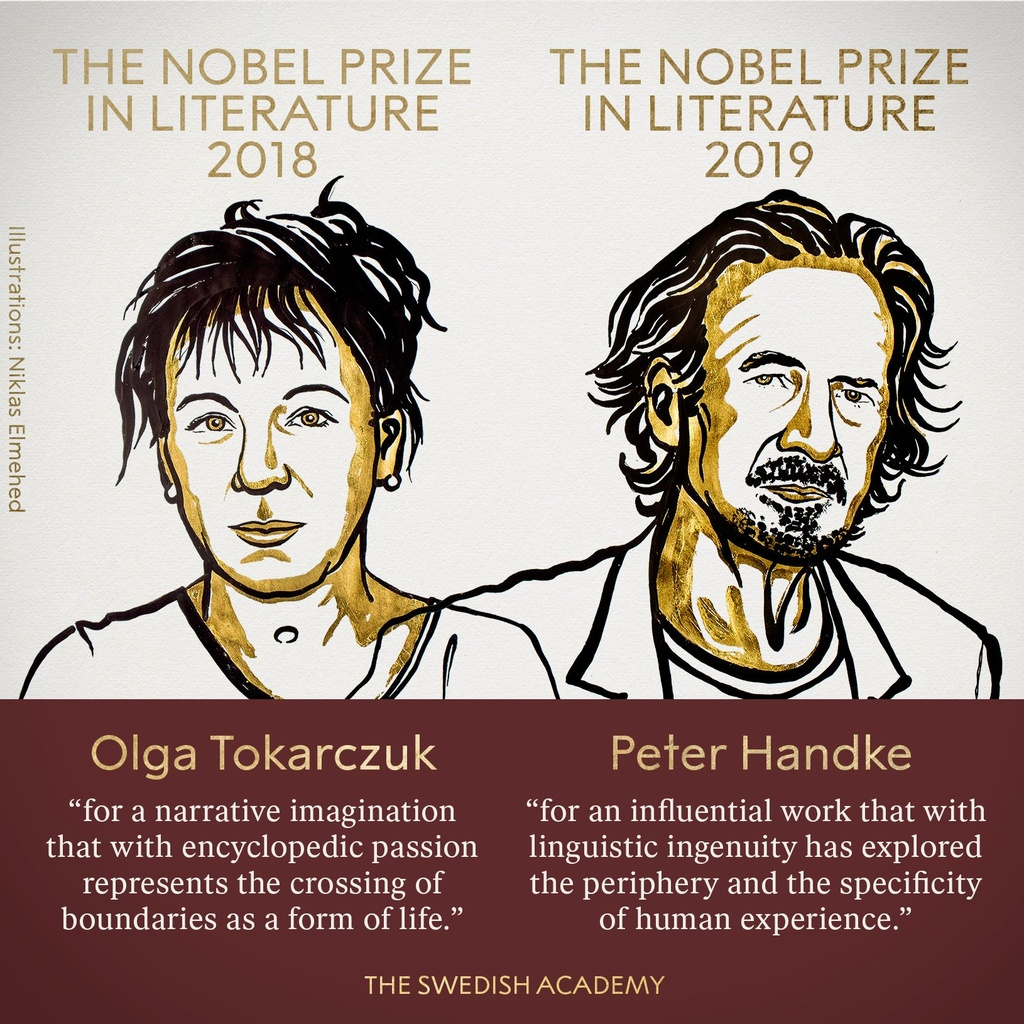 Hai tac gia Ao, Ba Lan gianh giai Nobel Van hoc 2018 va 2019 hinh anh 1