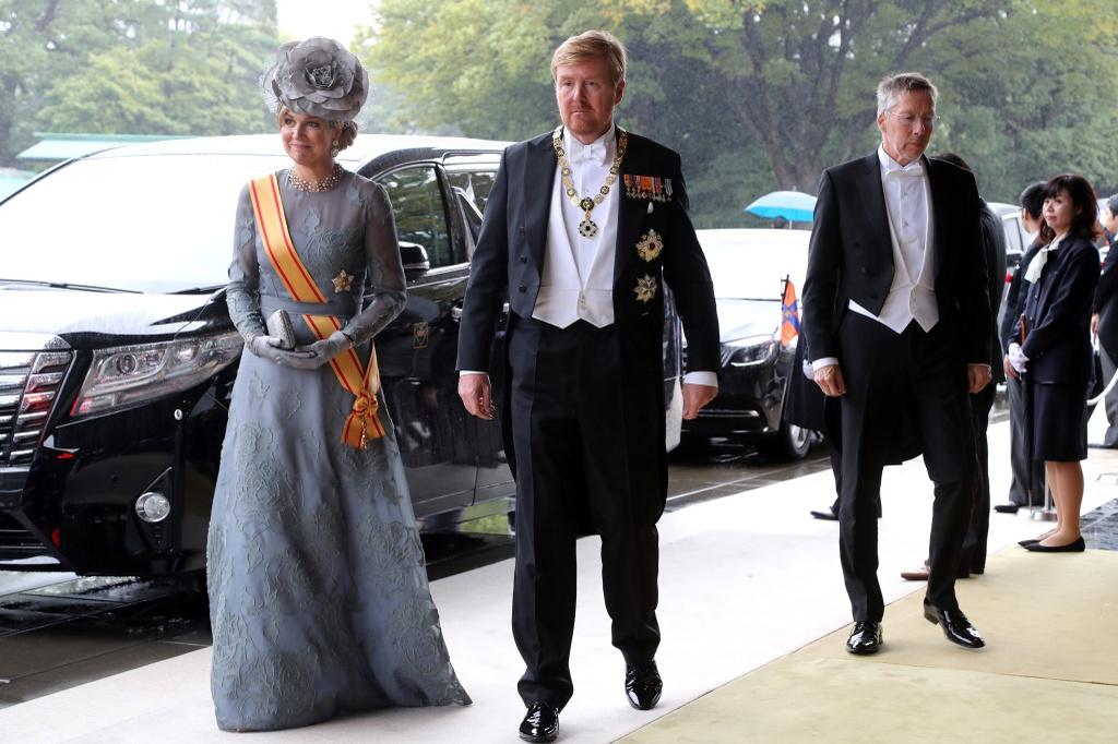 Nhà vua và lãnh đạo các nước dự lễ đăng cơ của Nhật hoàng Naruhito