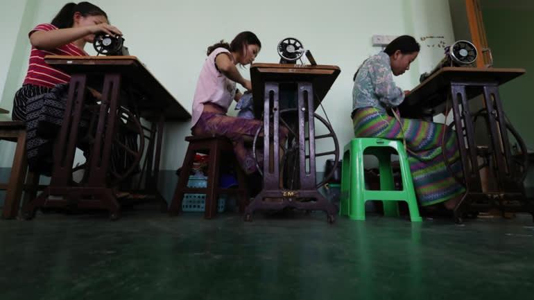 co dau Myanmar o Trung Quoc anh 6
