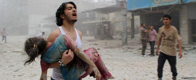 Cuoc khung hoang khong hen hoi ket o Syria hinh anh 1