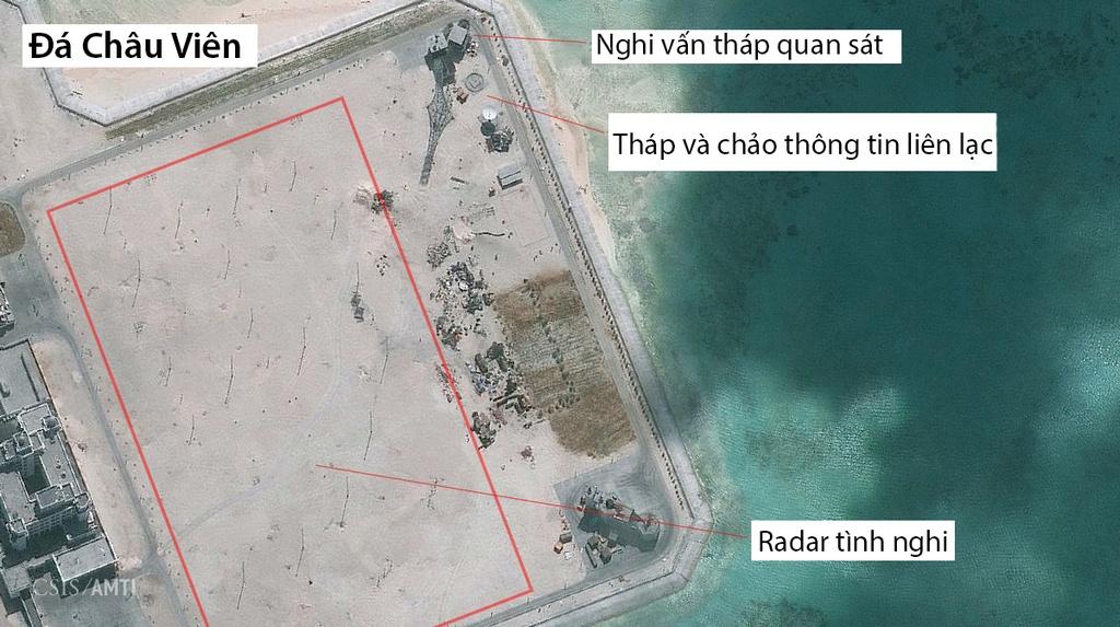 TQ xay loat tram radar tren cac dao phi phap o Truong Sa hinh anh 3