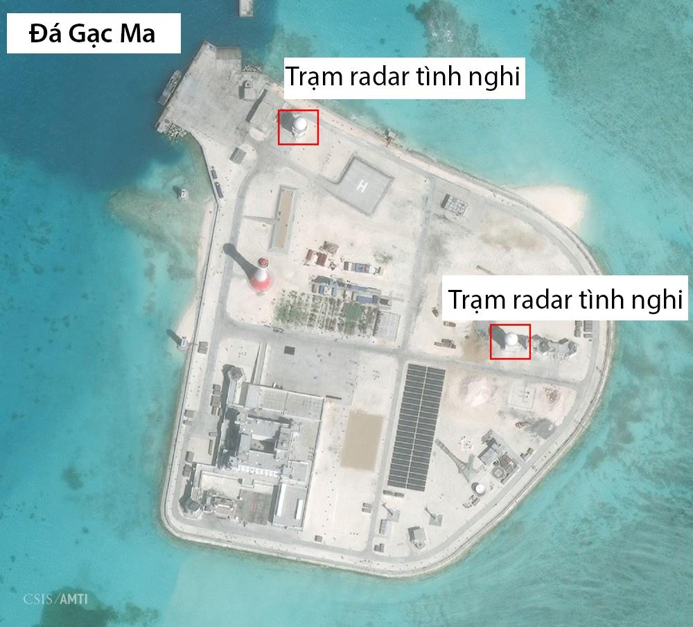 TQ xay loat tram radar tren cac dao phi phap o Truong Sa hinh anh 9