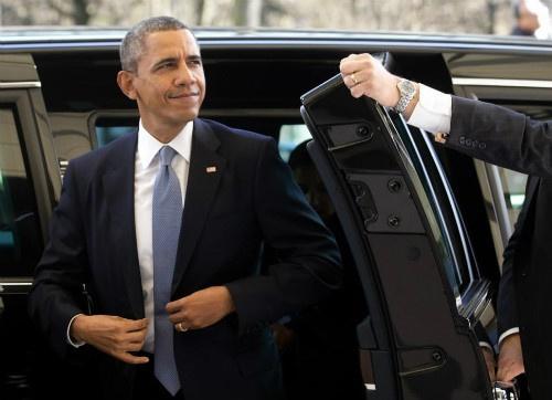Doan thap tung hung hau cua Tong thong Obama hinh anh 1