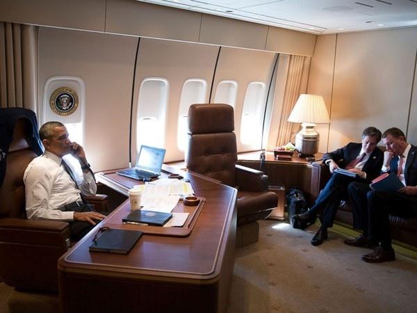 Doan thap tung hung hau cua Tong thong Obama hinh anh 4