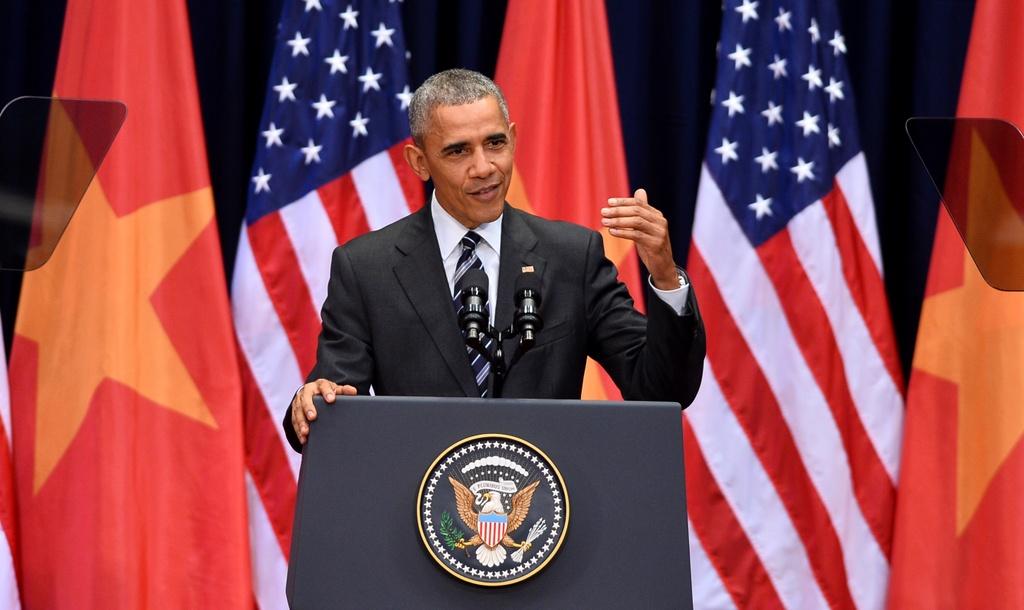 Nhung cau noi binh di cua Obama trong chuyen tham VN hinh anh 6