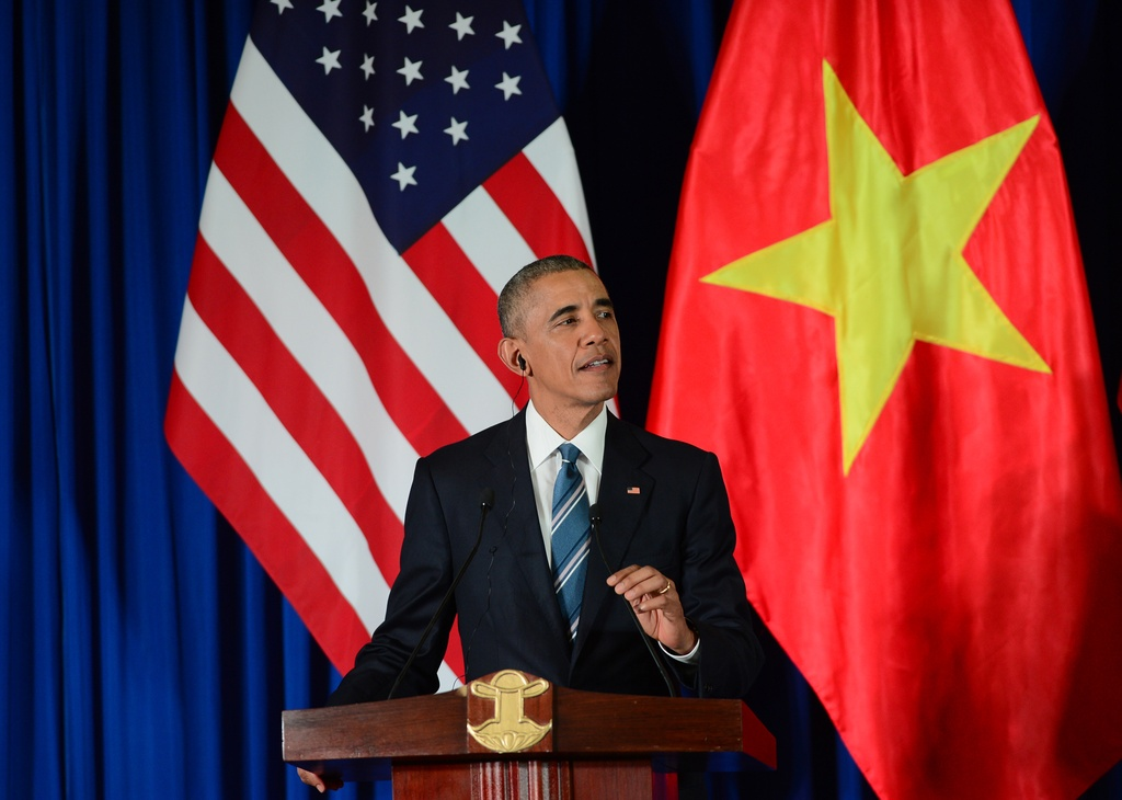 Nhung cau noi binh di cua Obama trong chuyen tham VN hinh anh 7