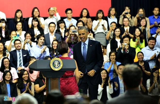 Nhung cau noi binh di cua Obama trong chuyen tham VN hinh anh 10