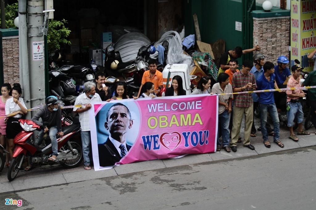 Duong pho Sai Gon truoc va sau khi Tong thong Obama ghe tham hinh anh 9