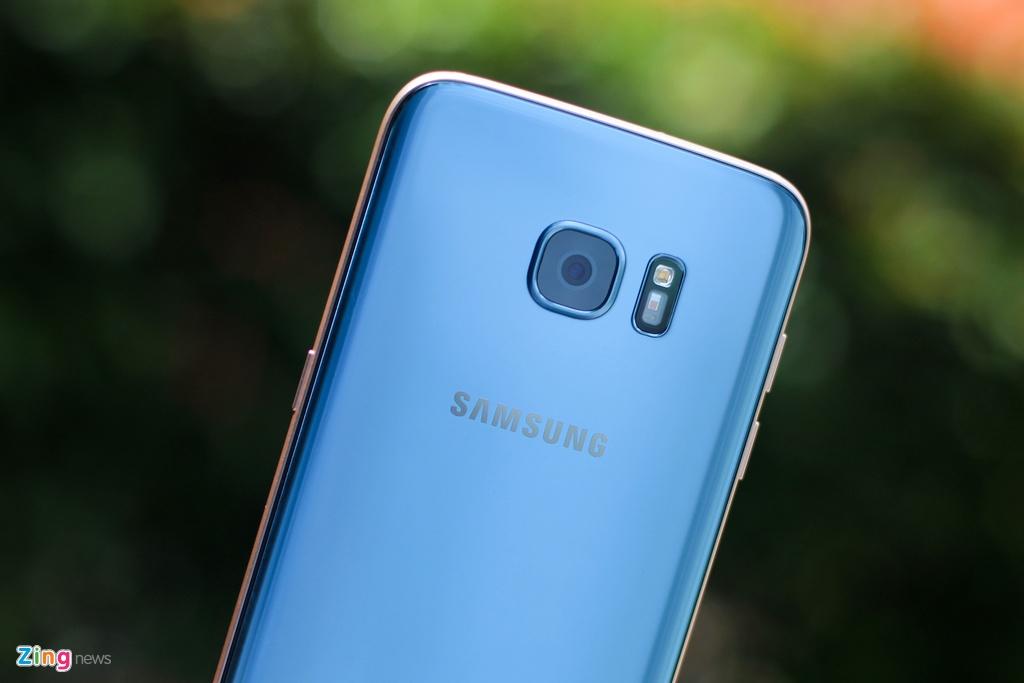 Samsung Galaxy S7 edge Blue Coral anh 5
