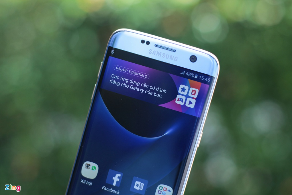 Samsung Galaxy S7 edge Blue Coral anh 10