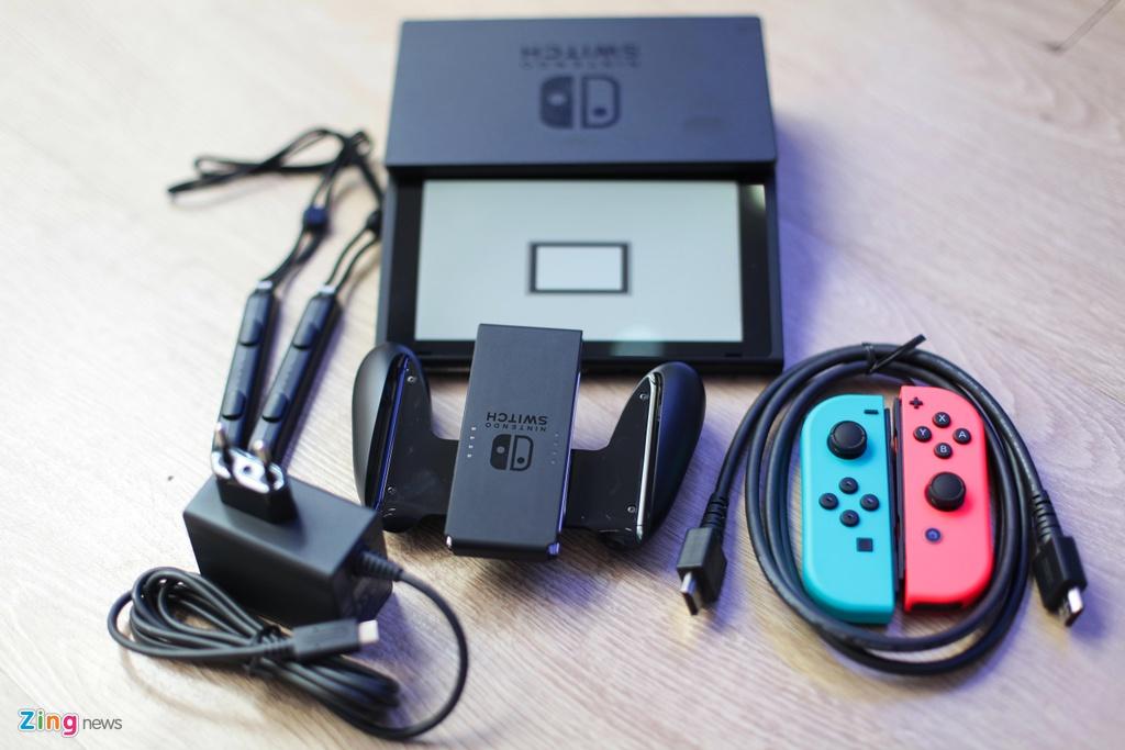Nintendo Switch: May choi game duoc trong cho ve VN, gia tu 7,5 trieu hinh anh 2