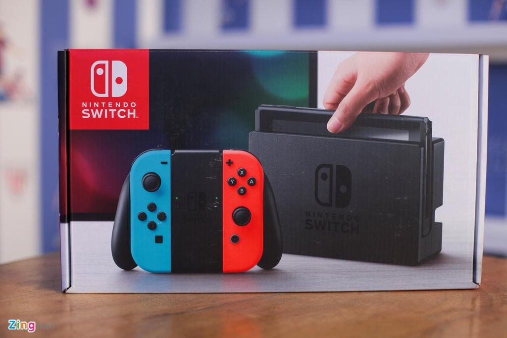 Nintendo Switch: May choi game duoc trong cho ve VN, gia tu 7,5 trieu hinh anh 1