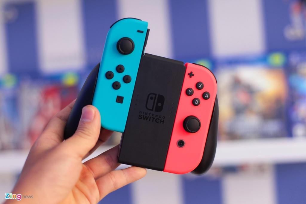 Nintendo Switch: May choi game duoc trong cho ve VN, gia tu 7,5 trieu hinh anh 4