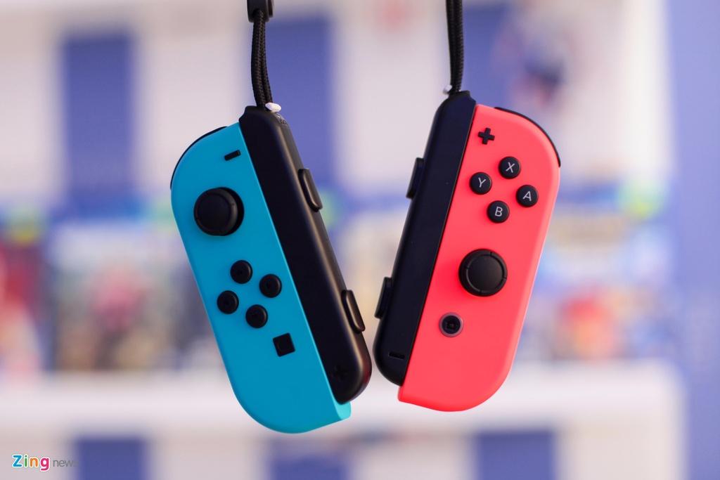 Nintendo Switch: May choi game duoc trong cho ve VN, gia tu 7,5 trieu hinh anh 5