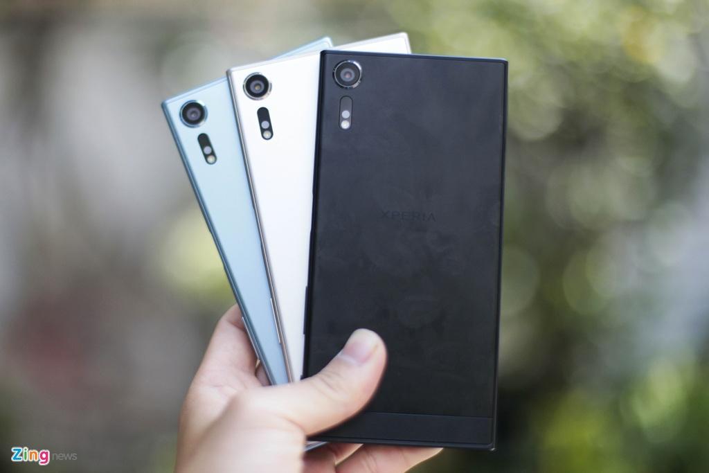 Anh thuc te Sony Xperia XZs gia 14,9 trieu tai Viet Nam hinh anh 1