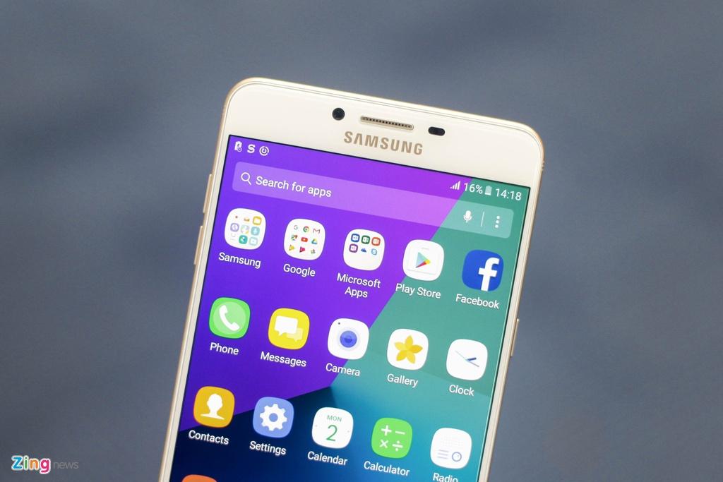 Anh smartphone RAM 6 GB dau tien cua Samsung sap ban tai VN hinh anh 5