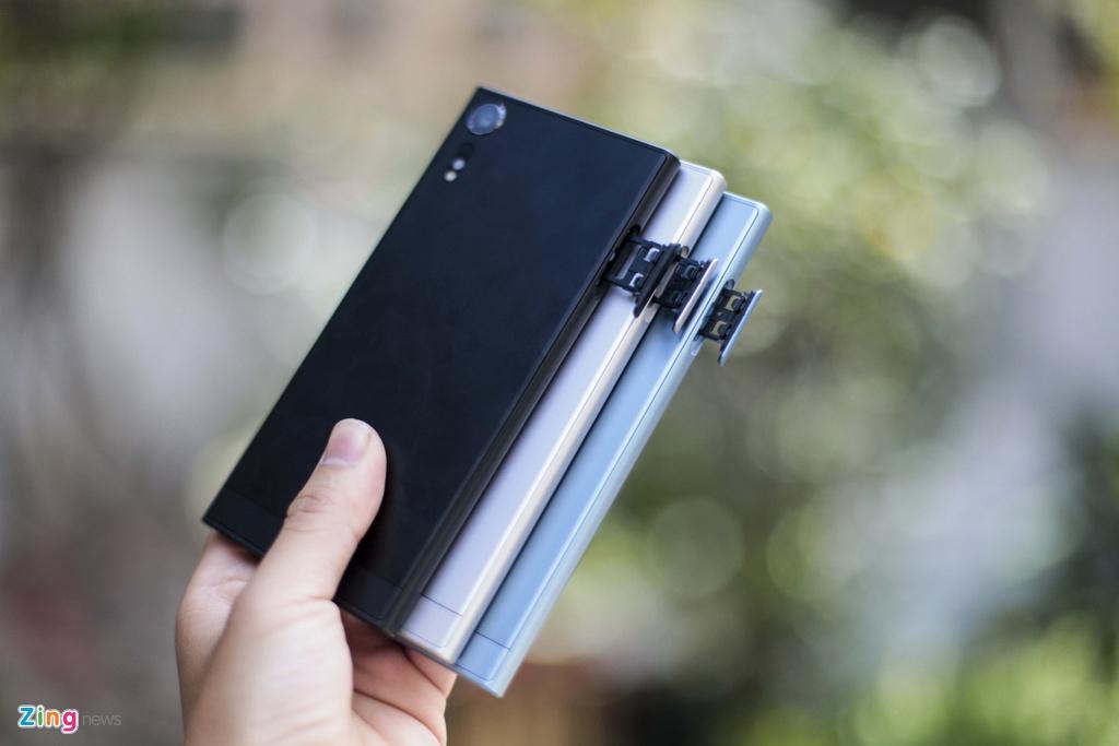 Anh thuc te Sony Xperia XZs gia 14,9 trieu tai Viet Nam hinh anh 3