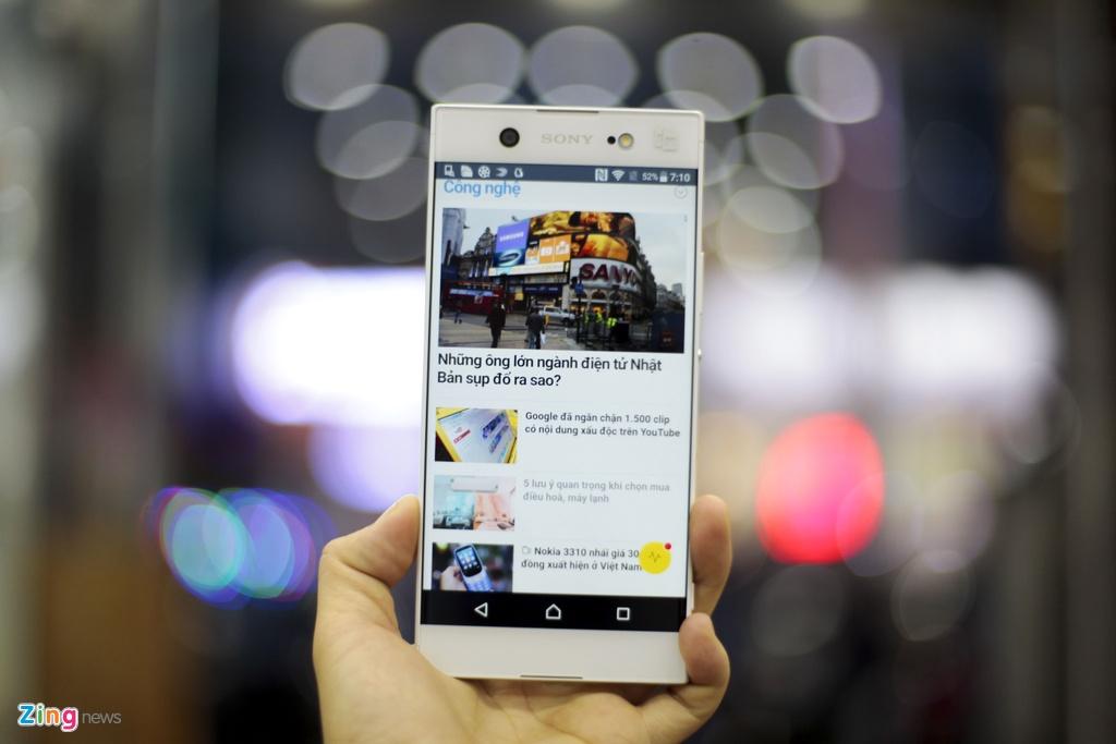 Mo hop Sony Xperia XA1 Ultra RAM 4G, camera 23 MP gia 8 trieu hinh anh 10