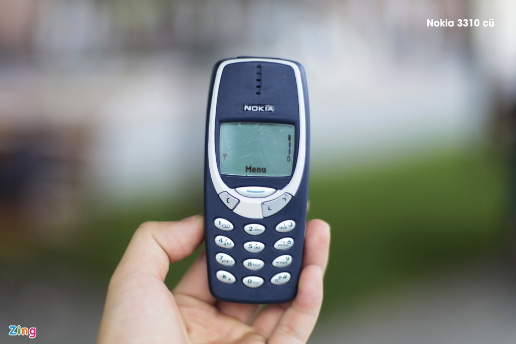 So sanh chi tiet 2 the he Nokia 3310 hinh anh 2