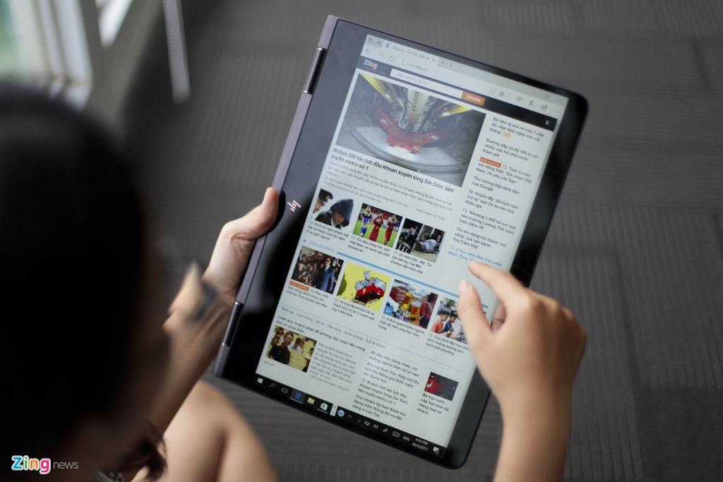 Trai nghiem laptop HP Spectre x360 man hinh gap 360 do hinh anh 12