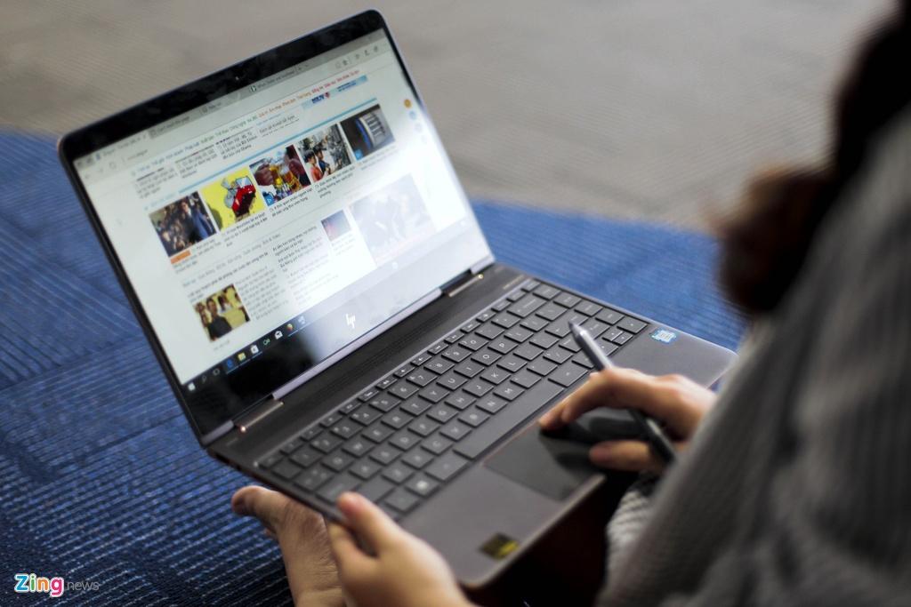 Trai nghiem laptop HP Spectre x360 man hinh gap 360 do hinh anh 9
