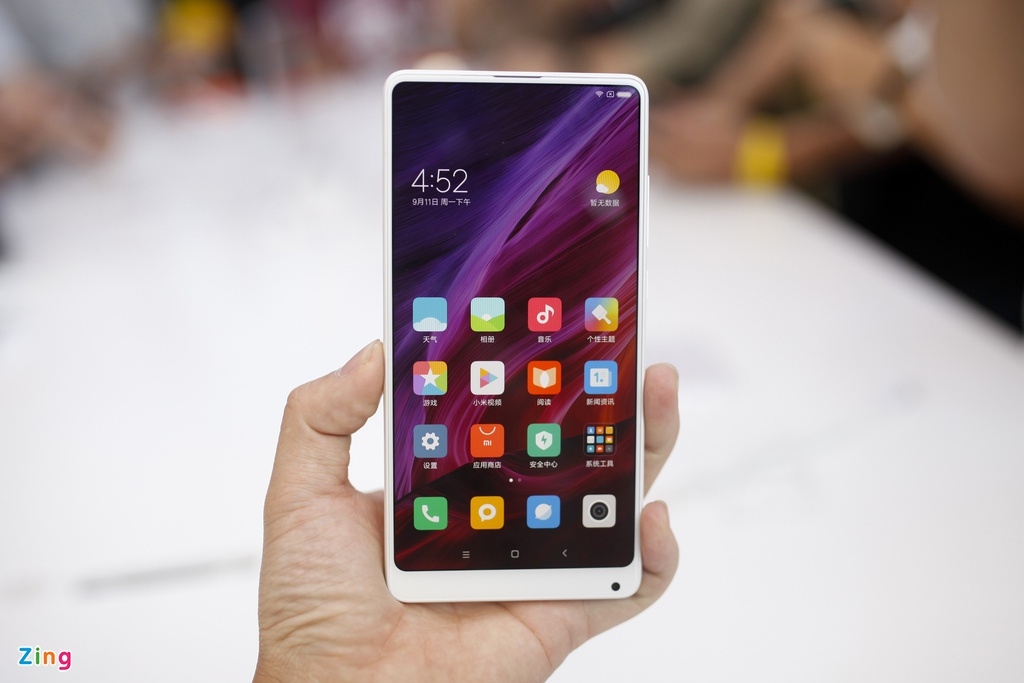 Anh Xiaomi Mi Mix 2: Thiet ke khong vien, hoan thien cao hinh anh 9
