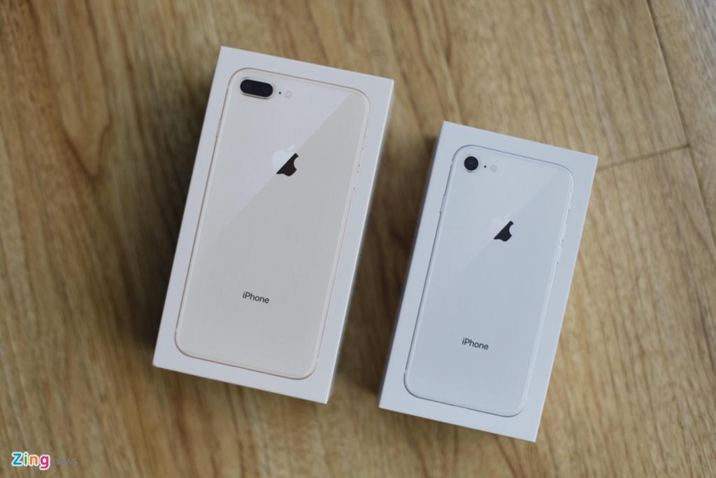 iPhone 8 dau tien ve Viet Nam gia tu 19,9 trieu dong hinh anh 1